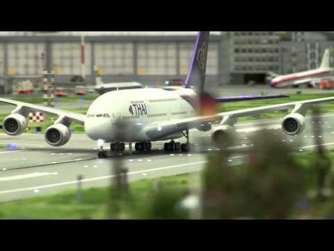 AMAZING MODELS: Worlds Biggest Miniature Airport | Knuffingen Flughafen