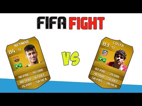 FIFA FIGHT - Neymar vs Diego Costa!