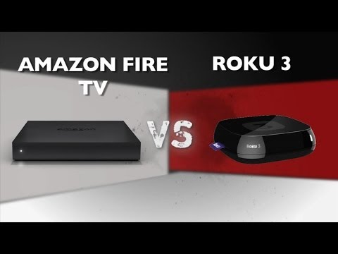 Prizefight - Amazon Fire TV vs Roku 3