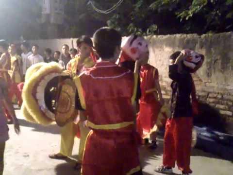 Trung Thu 2012 Múa Sư Tử tại Khu Tập Thể Giải Phóng A