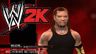 WWE 2K14 Jeff Hardy Texture Hack SVR 2009 Model And SVR 10