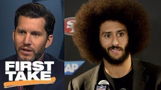 Will Cain: Colin Kaepernick wasn't right choice for GQ's Citizen of the Year | First Take | ESPN