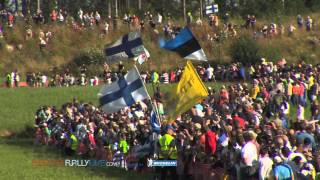 Vid�o Day 1 Highlights - 2012 WRC Rally Finland par Best-of-RallyLive (5039 vues)