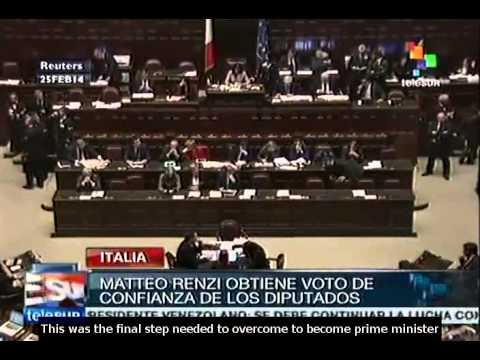 Italian PM Matteo Renzi wins final confidence vote