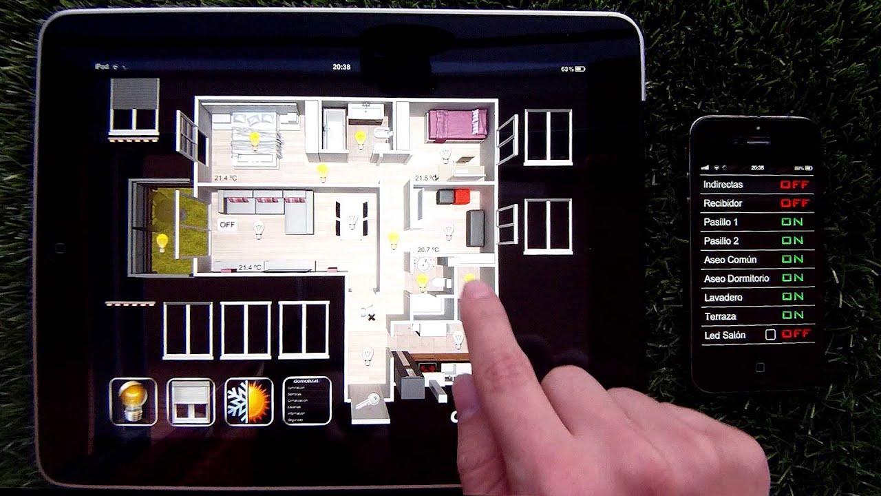 Dom tica controla tu casa con tu iphone ipad o android - Domotica marbella ...