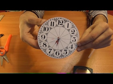 Сделать игрушечные часы своими руками 67