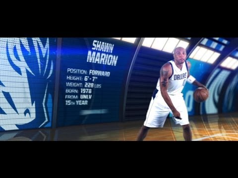 2013-14 Dallas Mavericks Bio Card Animations