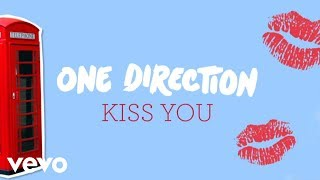 One Direction Kiss You (Lyric Video)