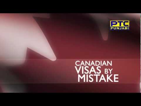 canadian visas by mistake