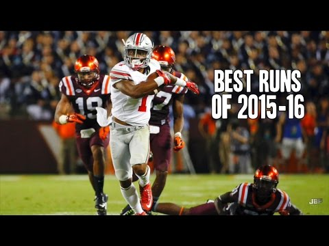 Best Runs of the 2015-16 College Football Season ᴴᴰ