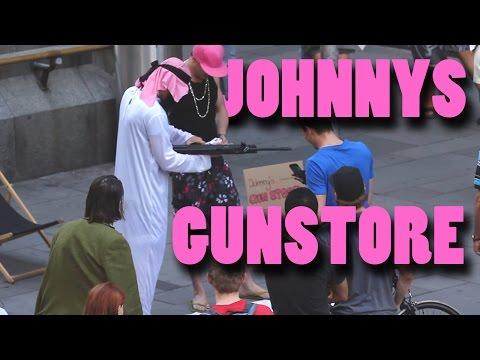 Johnnys Gun Store - Versteckte