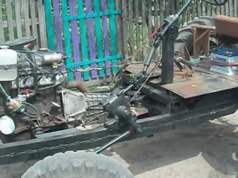 Трактор бизон видео