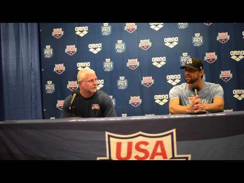 Michael Phelps Press Conference Charlotte Grand Prix