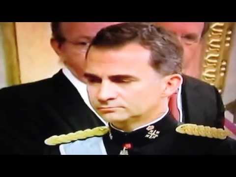 Felipe VI sworn in as Spain's new king: June 19, 2014
