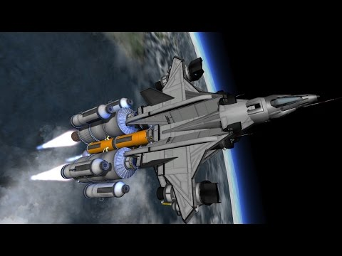 KSP : Halo Reach : YSS 1000 'Sabre' Remake
