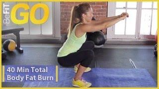 40-minutowe ćwiczenia spalające tłuszcz