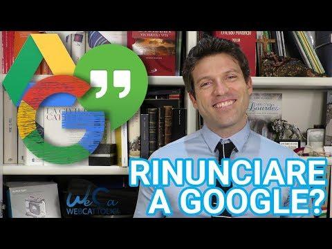 Può una parrocchia rinunciare a Google? Perché sì, perché no...