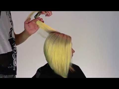 Hairstyles Medium lenght Graduated bob TOM SKOU