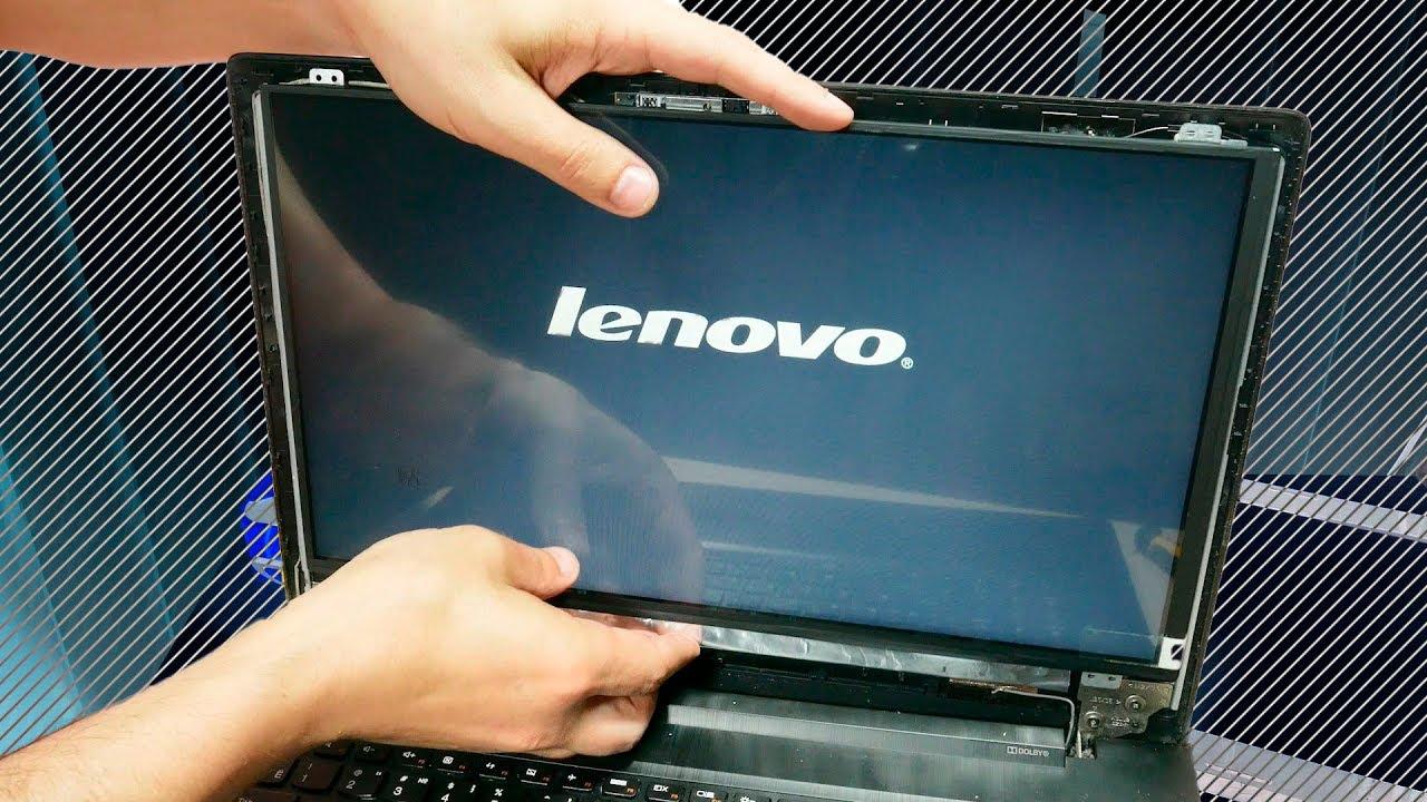 Ремонт ноутбука своими руками белый экран 56