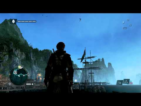 Assassin's Creed 4 Black Flag - Ship Glitch (Bug)