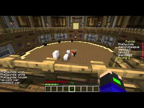 Talx plays: Minecraft minigame- Build It!