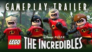 LEGO The Incredibles - Parr Family Játékmenet Trailer
