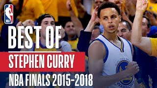The Best of Stephen Curry!   NBA Finals 2015-2018