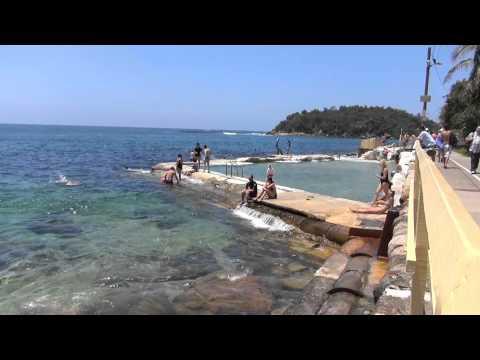 Na Praia em Sidney Austrália