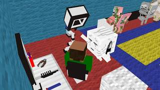 Monster School: Haircut -  Minecraft Animation