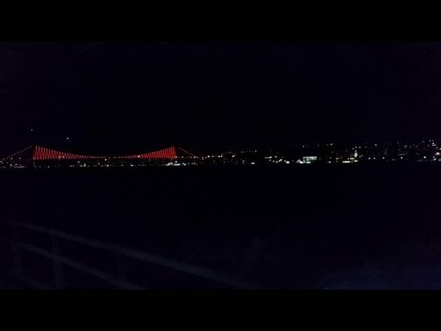 Galaxy S5 Gece Çekimi: 4K UHD Video Testi 3 - Gece Vapur