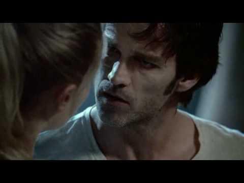 Sookie saves Bill in Season 1, Episode 1 of True Blood