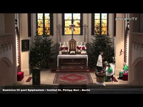 Dominica III post Epiphaniam 06 Alleluia - Traditional Latin Mass