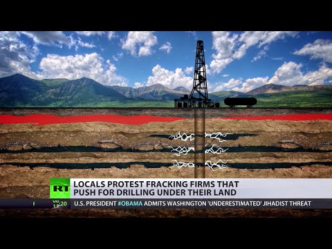 UK fracking lobby gets OK to drill beneath your feet as public protests