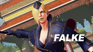 Street Fighter V - Arcade Edition: Falke Játékmenet Trailer