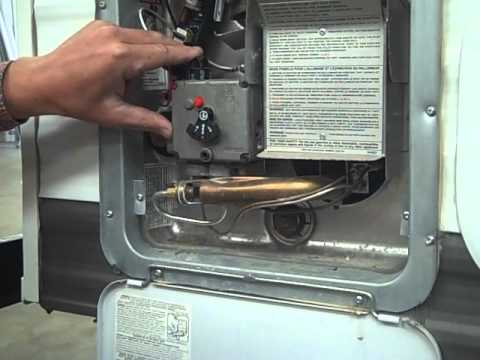 Travel Trailer Pdi Propane Hot Water Heater Youtube