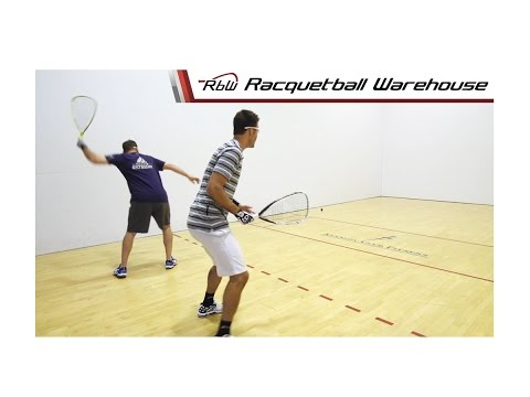 Racquetball Doubles Positioning