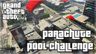 "GTA V - ""Pool Parachute Challenge"" w/ KSI, Behzinga, Miniminter, Vikkstar, Zerkaa"