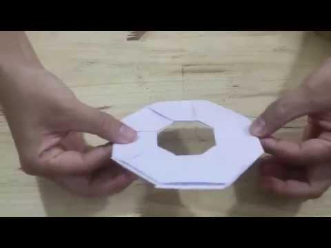 Cách gấp phi tiêu giấy đơn giản
