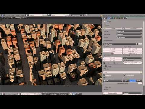 tutorial: How to Create a City in Blender