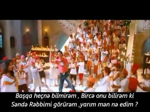 Tujh Mein Rab Dikhta Hai -Azeri tercum
