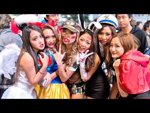 Japan Halloween – Shibuya Costume Street Party ハロウィン