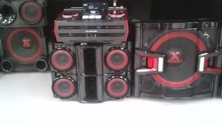 Nuevo LG X-BOOM PRO CM9940 (Probando Sonido Y Efectos Dj