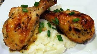 Pollo en Miel y Mostaza