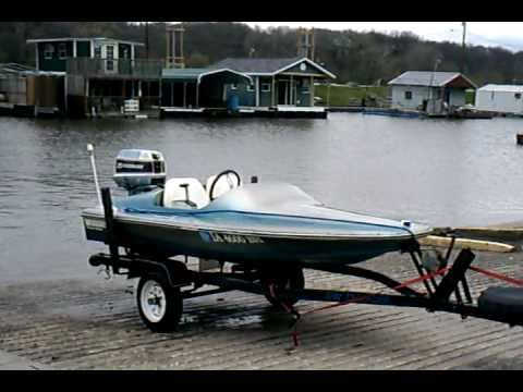 Gw invader 10 ft mini speed boat youtube