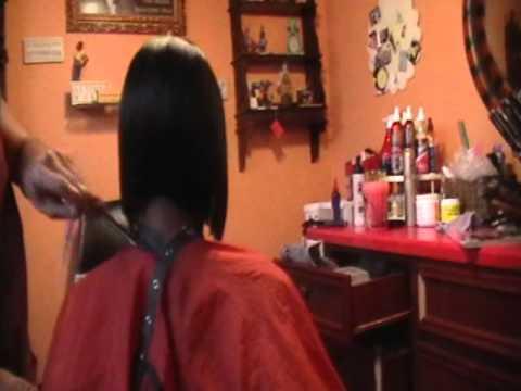 black hair salons houston l layered bob haircut youtube