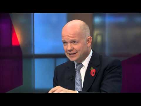 Interview: William Hague on Sri Lanka