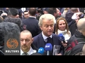 Wilders condemns Moroccan scum, calls Dutch to regain their country as he launches his election