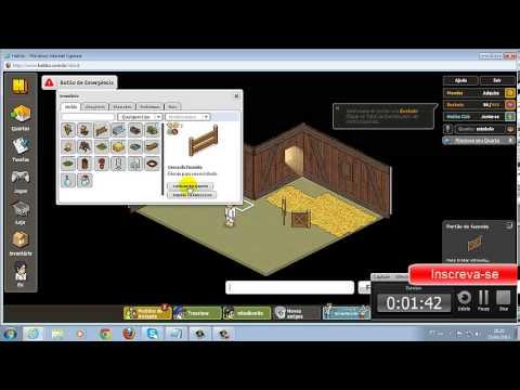 Habbo - Como criar um estábulo