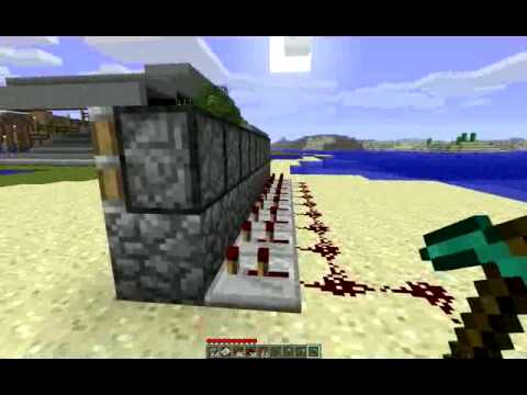 minecraft how to make a cobblestone generator
