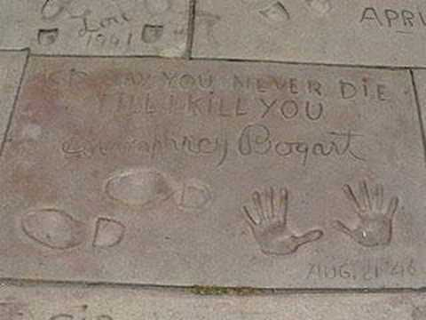 Grauman's Chinese Theatre Footprints